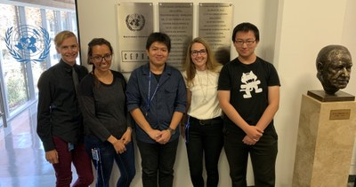 UC Davis data science team at UN ECLAC