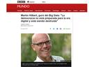 Interview BBC MUNDO: Big Data