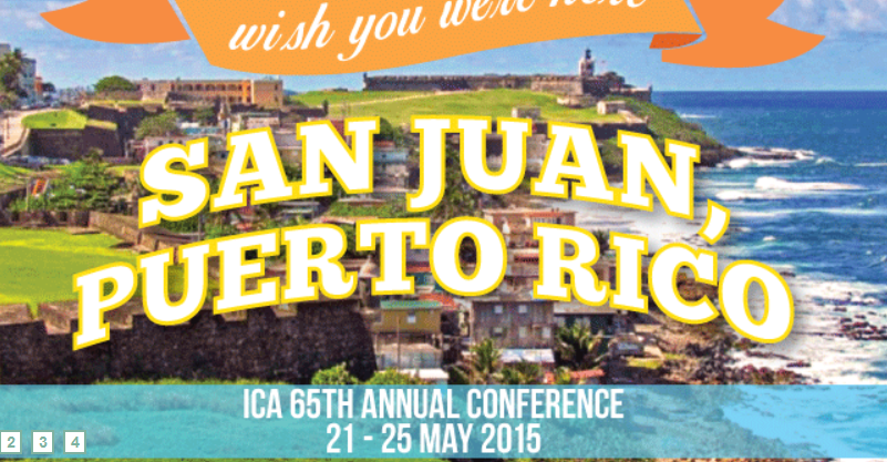 Several presentations at ICA 2015