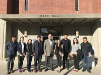 Visit from Beijing Normal University Scholars